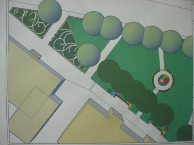 Započelo krajobrazno uređenje okoliša Gradske knjižnice i Gradske vijećnice