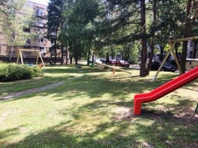 Dječje igralište na Trgu Hrvatskog narodnog preporoda