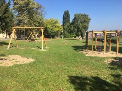 Novo dječje igralište u Lađarskoj ulici
